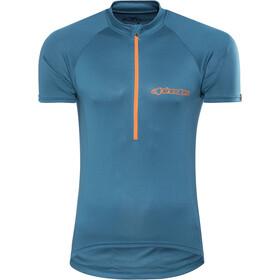 Alpinestars Elite SS Jersey Herren blue bright orange